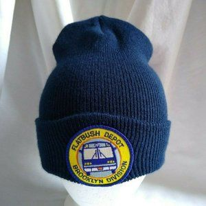 NYCT Flatbush Depot Brooklyn Division Beanie Knit
